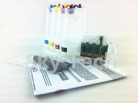 Empty CISS For Epson T1411 - T1414 , Continuous ink syestem For WP-7018 WP-7511 WP-7521 WF-3521 WF-7018 etc , with ARC chips