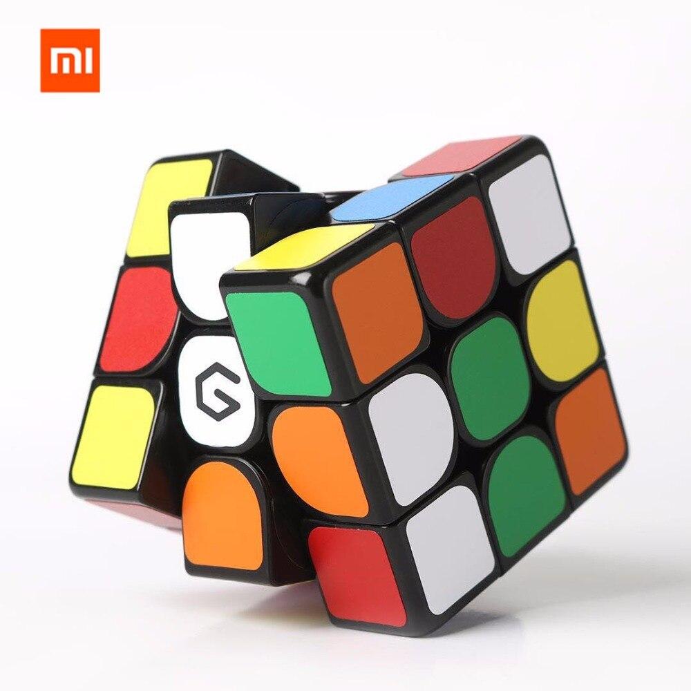 Xiaomi Mijia Giiker M3 Magnetic Cube 3x3x3 Vivid Color Square Magic Cube Puzzle Science Education Work With Giiker App