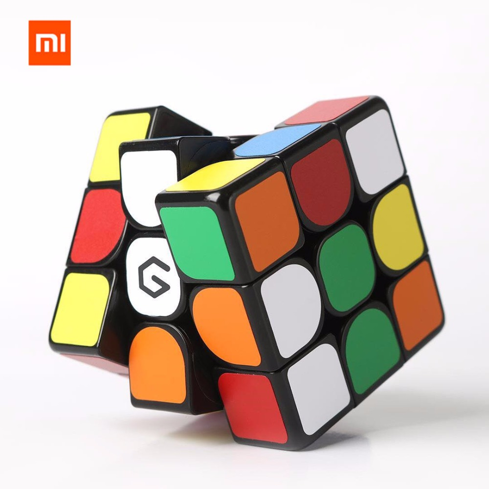 Xiaomi Mijia Giiker M3 3x3x3 Cores Vivas do Cubo Magnético Quadrado Mágico Enigma Cube Educação Científica do Trabalho com o Aplicativo Giiker