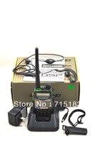 Baofeng UV-5RA плюс Двухканальные рации Dual Band VHF136-174MHz и UHF400-520MHz двойной дисплей Двухканальные рации UV-5RA + портативный радиолюбителей
