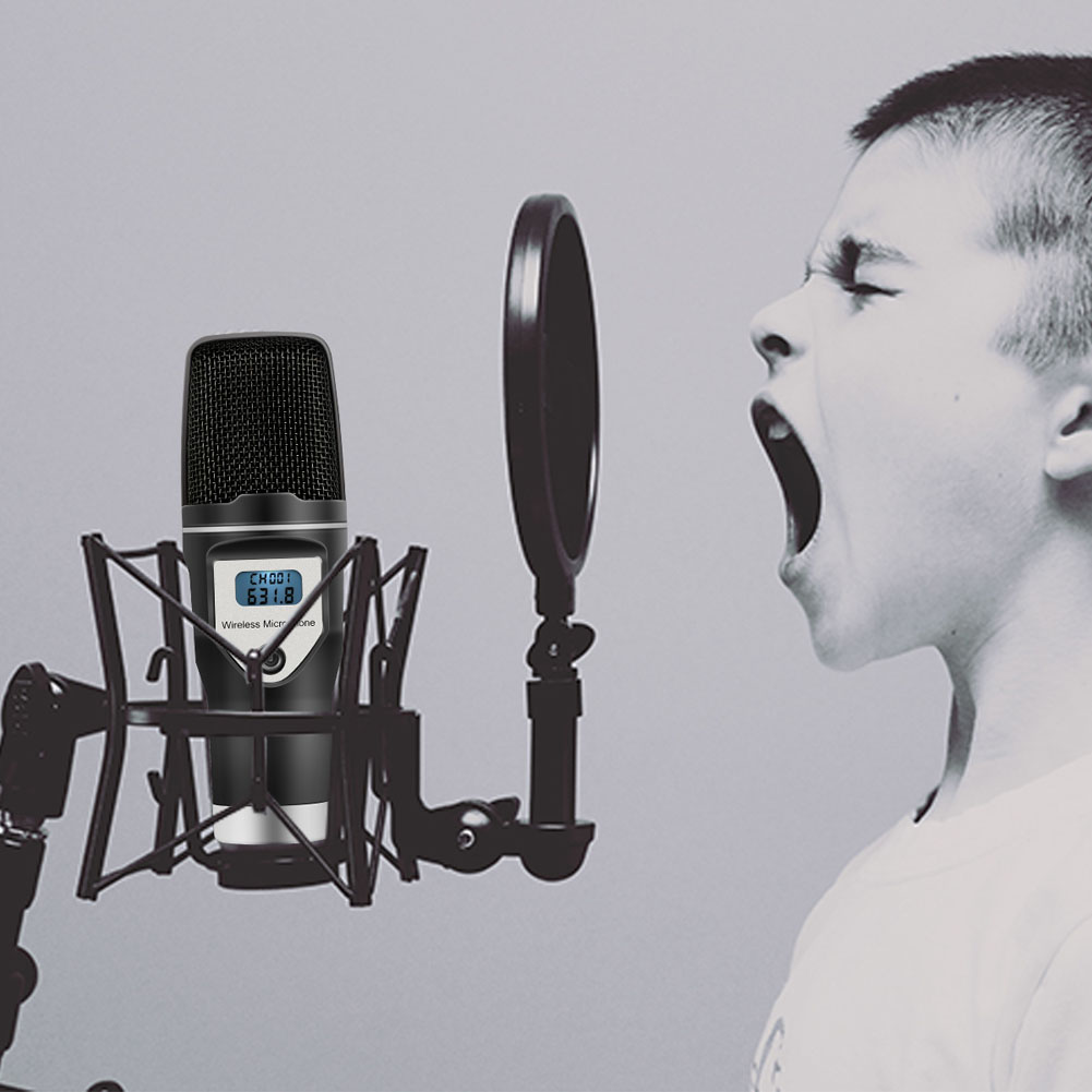 Micro à condensateur USB sans fil pour Studio à domicile pour enregistrements Podcast recherche vocale jeux livraison directe