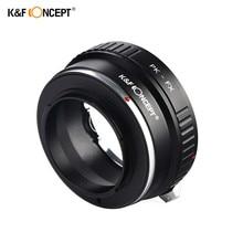 K & F CONCEPT PK-FX Lentille Anneau Adaptateur Pour Pentax PK Lens pour Fujifilm X Mont Fuji X-Pro1 Caméra