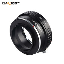 K&F CONCEPT PK-FX Lens Adapter Ring For Pentax PK Lens to Fujifilm X Mount Fuji X-Pro1 Camera