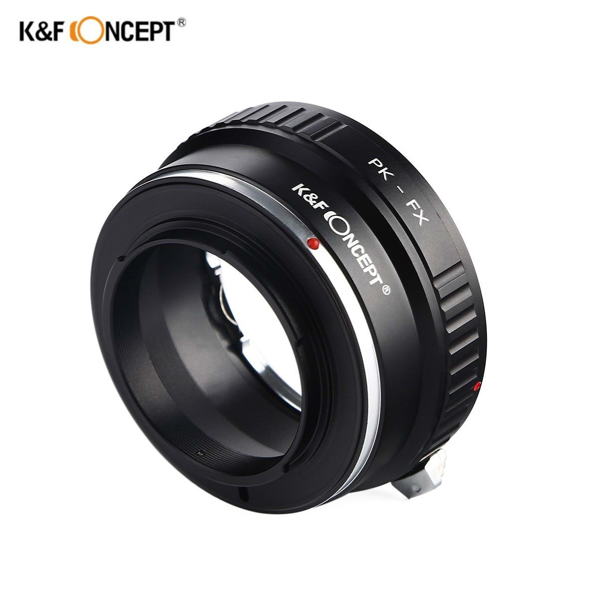 K & F CONCEPT PK-FX lente anillo adaptador para Pentax PK lente a Fujifilm X montaje Fuji X-Pro1 Cámara
