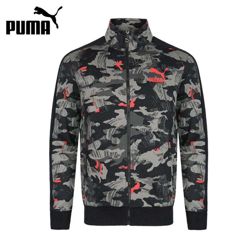 Original New Arrival 2018 PUMA Archive T7 jacket, Double Knit Men's jacket Sportswear недорго, оригинальная цена