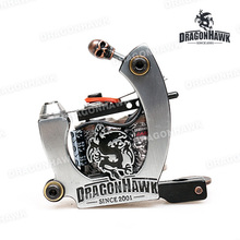 Tattoo Gun Dragonhawk Tattoo Machine Premium Iron 10 Wrap Shader and Liner WQ4874 & WQ4875