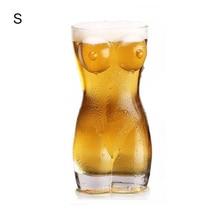 Сексуальная Дамская мужская прочная Двойная Стенка бокал для виски es бокал для вина большая грудь пивная чашка креативная форма для тела стеклянная чашка