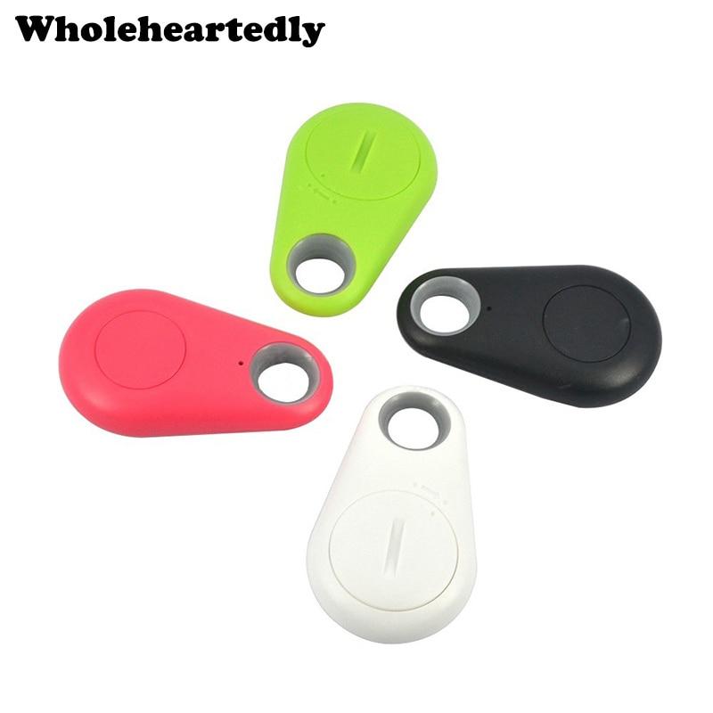 Smart Bluetooth Tracer GPS Locator Tag Alarm Wallet Finder Key Keychain Itag Pet Dog Tracker Child Car Phone Anti Lost Remind(China)