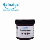 Супер производительность Светодиодный силиконовый теплоотвод нано термопаста/паста/соединение HY880 1000 г с крышкой/ванной