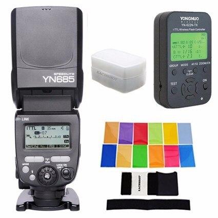 YONGNUO i TTL Speedlite YN685 YN685N YN 568EX Upgraded Version Flash for Nikon DSLR YN622N TX