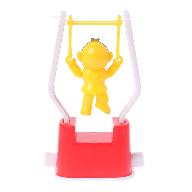 Artistic Gymnastics Wind Up Animal  Shaped Classic Toys Monkey Plastic