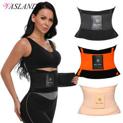 VASLANDA пояс для фитнеса Body Shaper неопрена талии тренер Для женщин для похудения Fajas моделирования ремень утягивающий пояс для живота