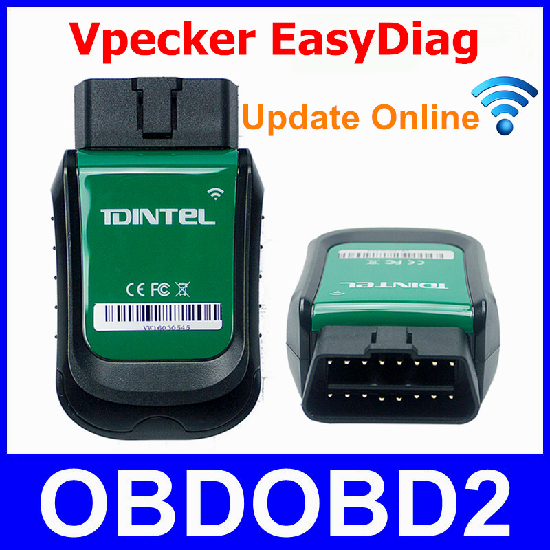 Original VPECKER EasyDiag WiFi Full Diagnostic Tool Update Online V7.2 Wireless Vpecker OBDII OBD2 Better Than Launch X431 IDIAG