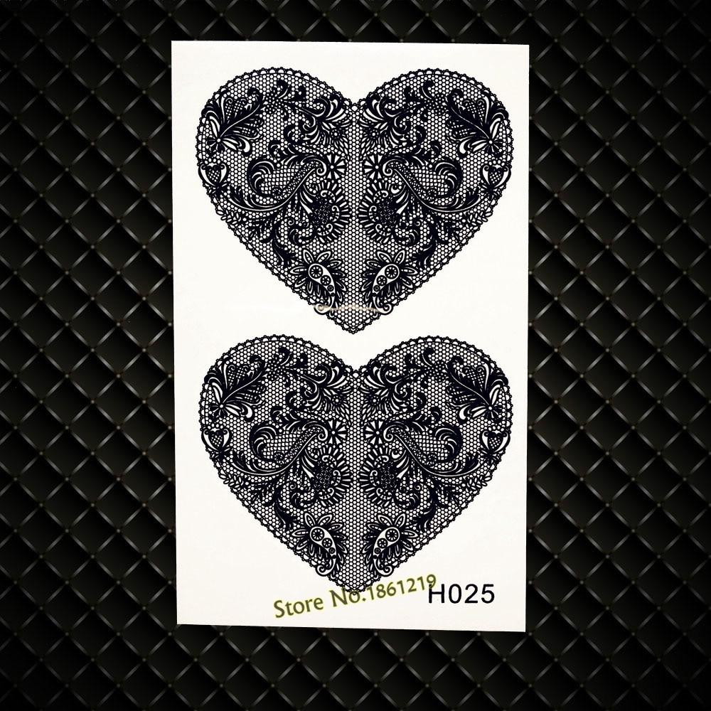 Black Cat Designs Temporary Tattoo Women Body ARm Legs Fake Flash Tattoo Sticker GH056 Henna Temporary Sticker Flower Jewelry