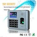 TX628 3 дюймов цветной экран TCP/IP отпечатков пальцев посещаемость времени записи часы система ZK linux отпечатков пальцев времени и посещаемости