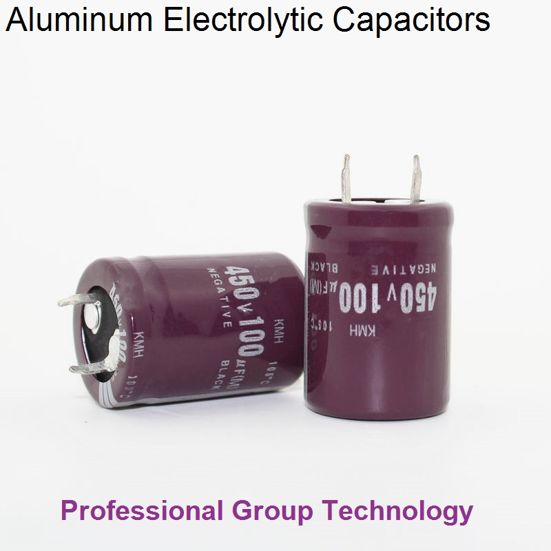 10pcs RH1 Good Quality 450v100uf Radial DIP Aluminum Electrolytic Capacitors 450v 100uf Tolerance 20% Size 22x30MM 20%