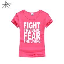 The Walking Dead Women T-shirt Fight The Dead
