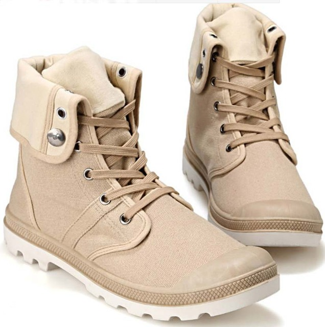 2016 Summer Martin men boots cowboy boots boots high fashion club canvas shoes men boy work combat turn dow booties flats 40-45