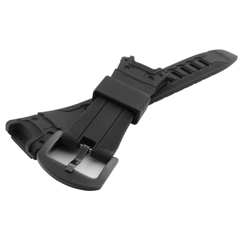 Prix pour Vente chaude de Haute qualité Noir bracelet En Silicone Bracelet En Caoutchouc Pour Casio PRG-110YPRW-1300Y Smart hommes Bracelet Bracelet