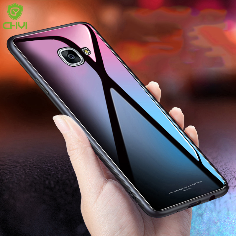 huge selection of 6a6eb 2c9b0 For samsung galaxy j7 prime case glossy tempered glass back cover ...