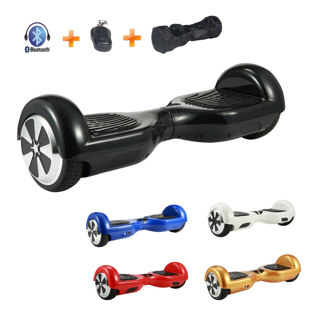 Hoverboard 6.5 inch Electric Skateboard Self Balancing Scooter Samsung Battery Gyporode Bluetooth CE RoHs UL Certified Handbag 6 5 adult electric scooter hoverboard skateboard overboard smart balance skateboard balance board giroskuter or oxboard