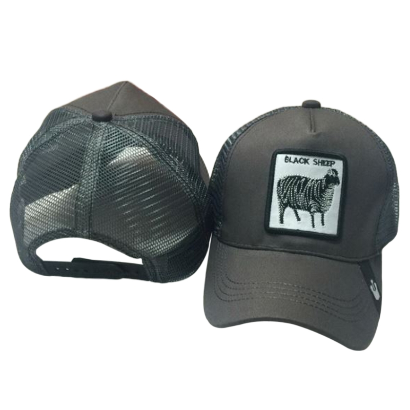 Unisex Baseball Cap Animals Embroidery Patch Classic Snapback Hip ... 3ef763ac4a07