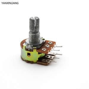 100k dual ganged stereo volume control wiring diagram lenel 2220 top 10 linear potentiometer yanxinliang 5pcs ohm amplifier