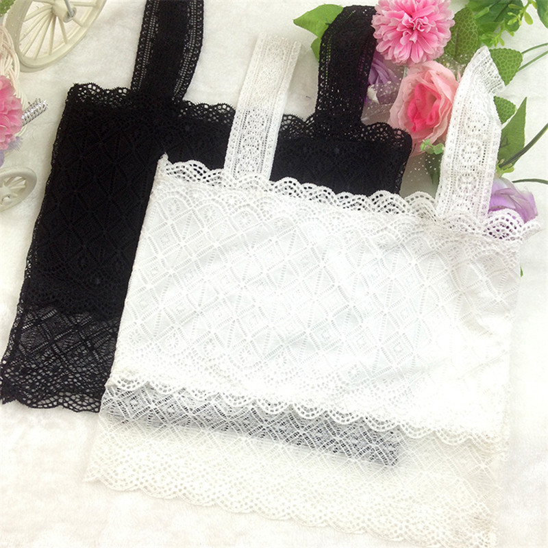 Hot Sale!Comfortable thin cup wireless young girl bra health kids lingerie Lace children underwear intimates lace sheer lingerie bra set