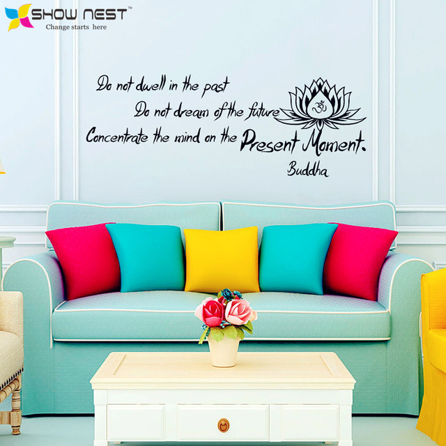 Yoga quotes wall decals do not dwell on the past yoga lotus yoga quotes wall decals do not dwell on the past mightylinksfo