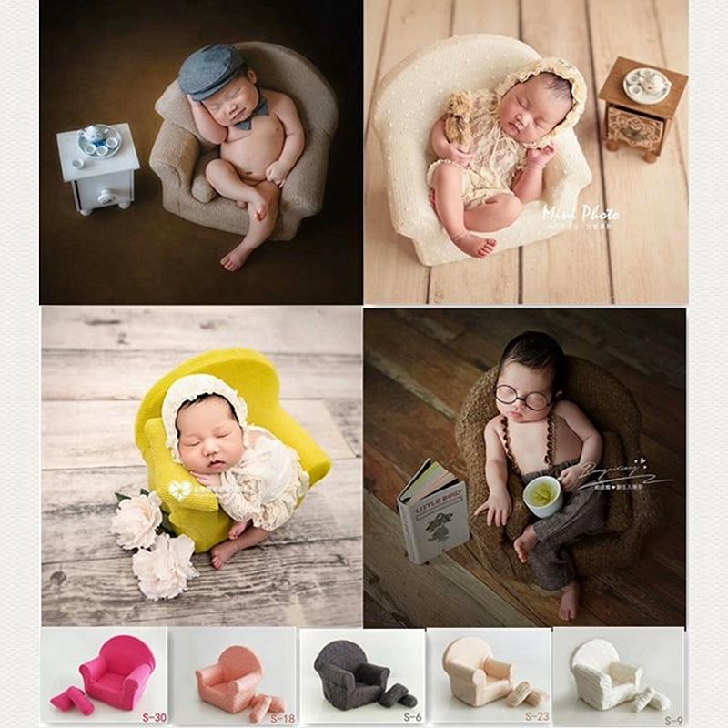 Baby Sofa Newborn Photography Prop Small Sofa Photo Shooting Prop