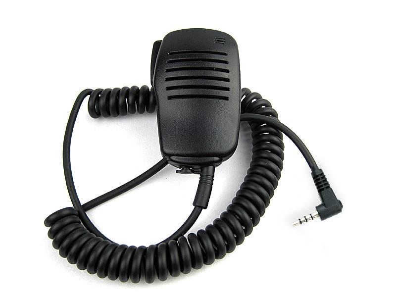 3.5mm Handheld Speaker Mic Microphone PTT for YAESU CB Radio Walkie ...