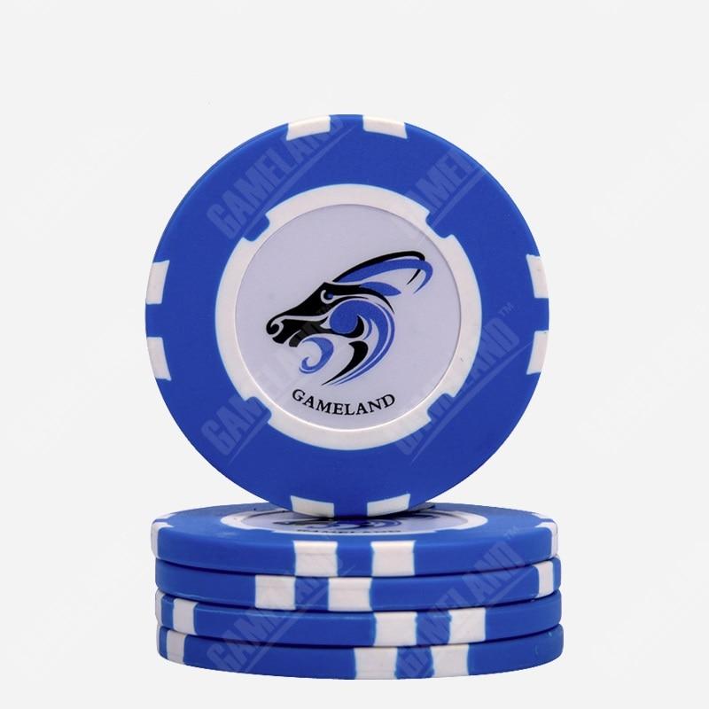 10pcs/Lot Premium Clay Chips 14 Gram Goat Pattern No Values Texas Holdem Poker Gambling Casino Chip Wholesale