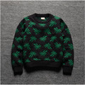 883#42 Retail 2015 New Autunm Boy Sweater Cotton O-Neck Dobby Snow Boy Pullover Casual Children Clothes