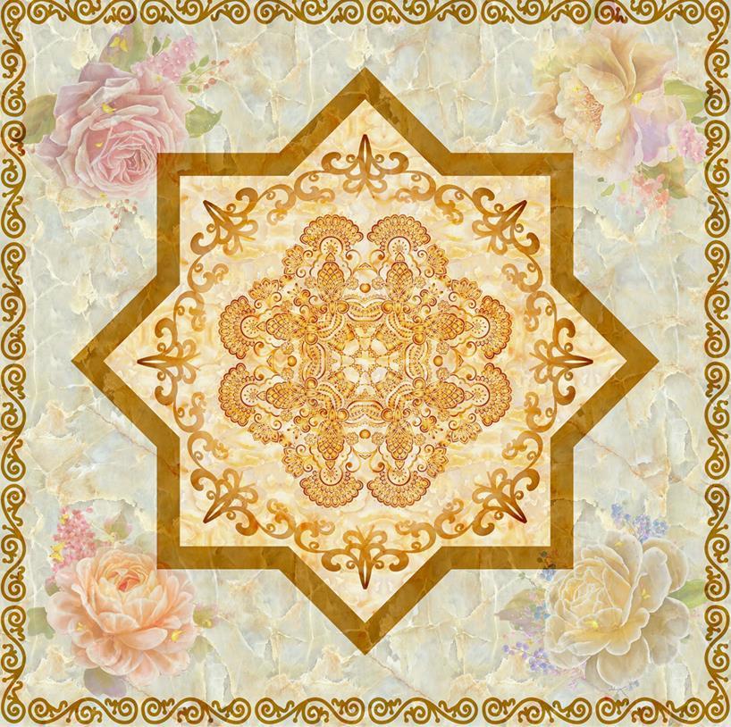 European 3d floor <font><b>tiles</b></font> custom photo wallpaper marble mosaic pattern murals waterproof self-adhesive floor wallpaper