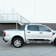 free shipping 2 PC side adventure mountain stripe graphic Vinyl stickerfor Ford Ranger