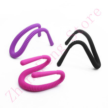 sex shop Freely bendable vaginal anal dilator perspective peeping Stimulating massage dildo adult erotic sex toys for Couple