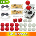 Arcade Joystick Kit DIY Arcade DIY Kit de Demora Cero Encoder USB para PC Palanca de mando de Sanwa Sanwa Arcade Pulsadores De Arcade Mame