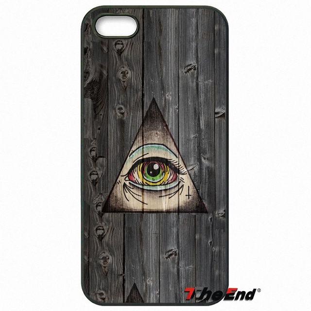 Online Shop Illuminati Symbol Eye Pyramid Fashion Phone Case For