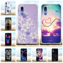 For Samsung Galaxy A2 Core Case Soft TPU For Samsung Galaxy A2 Core A260F Cover Floral Patterned For Samsung Galaxy A2 Core Capa стоимость