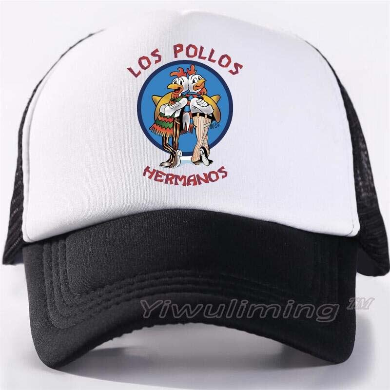New Summer Trucker   Caps   chicken brothers Cool Summer Black Adult Cool   Baseball   Mesh Net Trucker   Caps   Hat for Men Adjustable