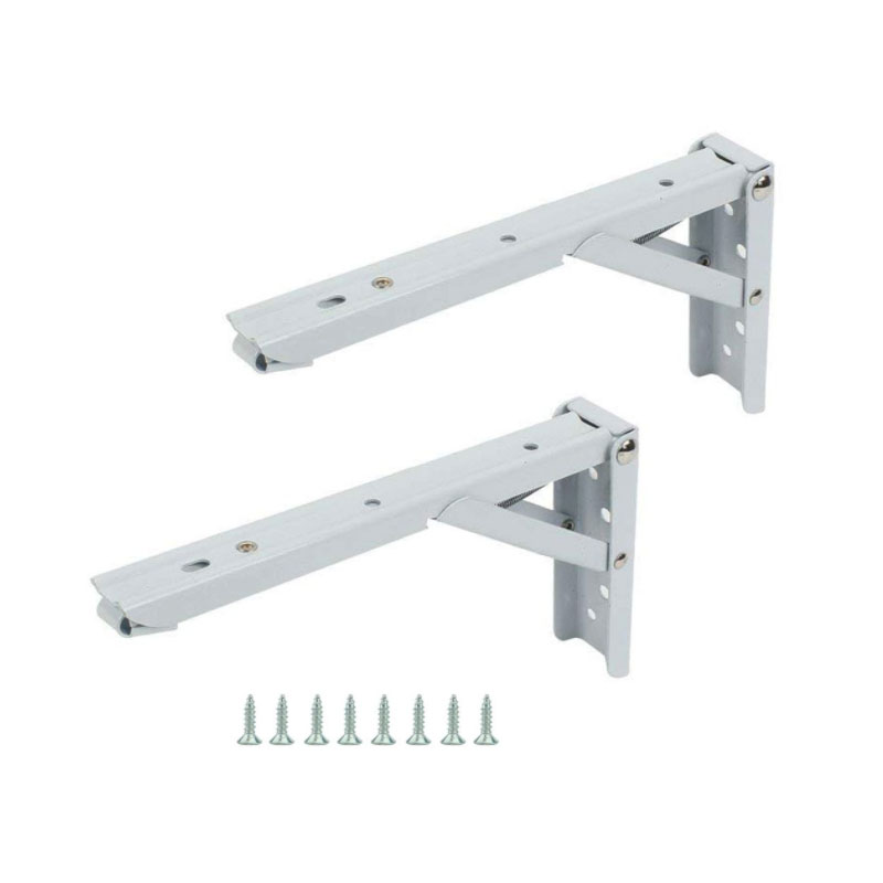 Outstanding Us 14 97 30 Off Folding Shelf Support Brackets Spring Loaded Sturdy Short Release Arm With Screws For Work Bench Table 10 Inch Pack Of 2 In Brackets Squirreltailoven Fun Painted Chair Ideas Images Squirreltailovenorg