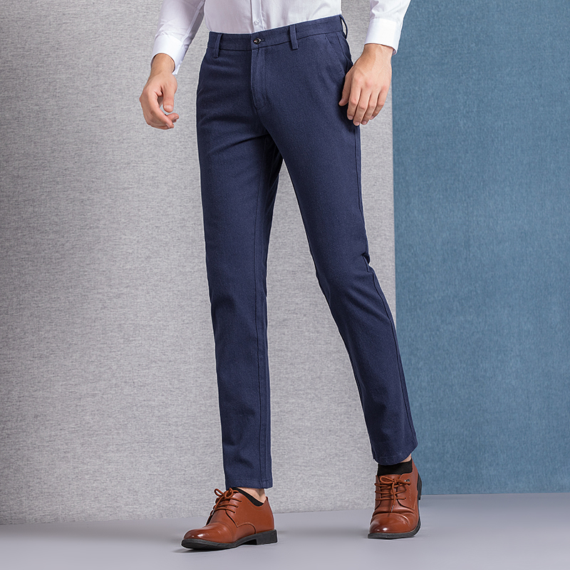 Casual Slim Chinos 4