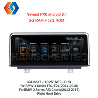 10.25 Touch Car GPS Stereo For BMW 1 2 Series F20 F21 2011 2016 F22 23 Fast Delivery Android 8.1 NBT Multimedia Radio RHD 37