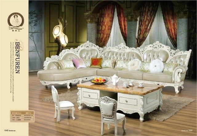 Armchair Chaise Beanbag European Style Set Sofas In Muebles Luxury ...
