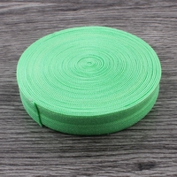 30yards 16MM Wide Green Fold Over Elastic By The Yard For Headband DIY Hair Ties FOE Elastic For Kids Girls Hair Accessories