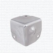 100 pieces corner brackets 35 Aluminum corner luggage bags part hardware airbox corner woodenbox stereo corner