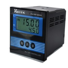 CT 6658 LCD صناعة مقياس درجة الحموضة ، PH/ORP تحكم بدون القطب الكهربائي