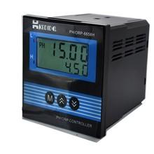 CT 6658 lcd産業phメーター、ph/orpコントローラなしで電極