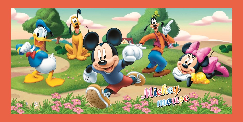 Attractive Mickey Mouse Clubhouse Wall Mural Great Pictures Part 35