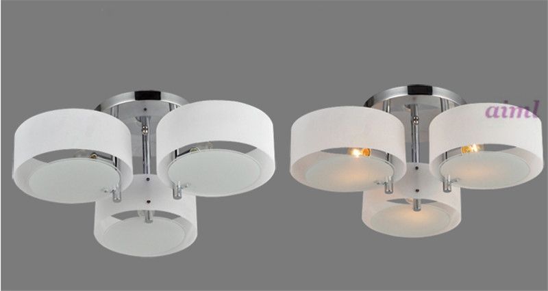 Modern minimalist creative led acrylic ceiling lamp bedroom warm restaurant are three head hanging lamps настольная игра step puzzle за грибами